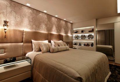 Qual iluminação ideal para quarto