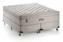 Conjunto Cama-box e Colchão Ecofair Cotton Simmons